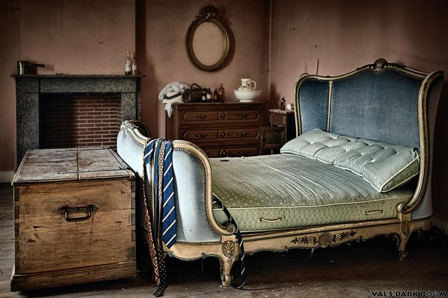 Manoir of the bride - bedroom