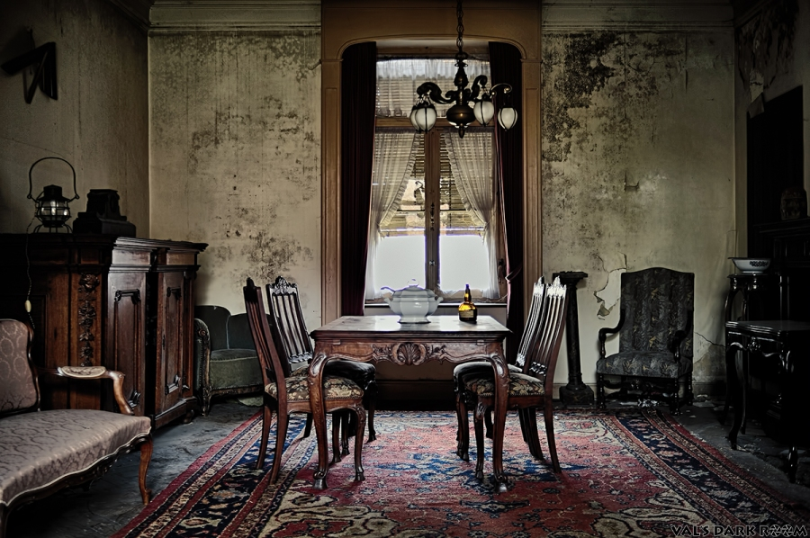 Manoir of the bride - living room