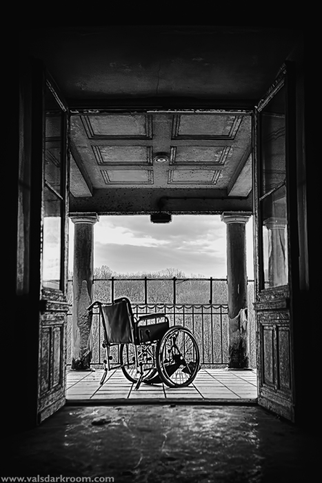 House of Wheelchairs - room with a view