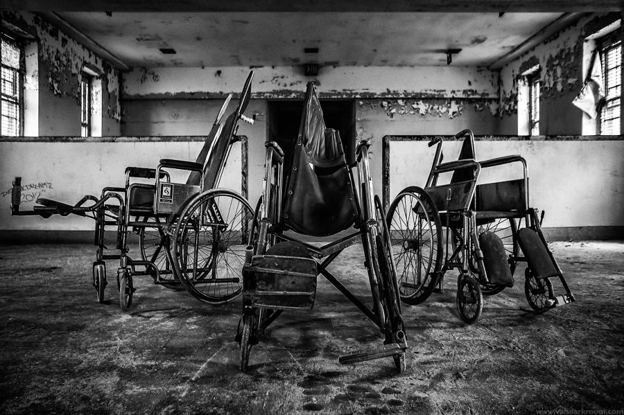 abandoned psychiatric instituation